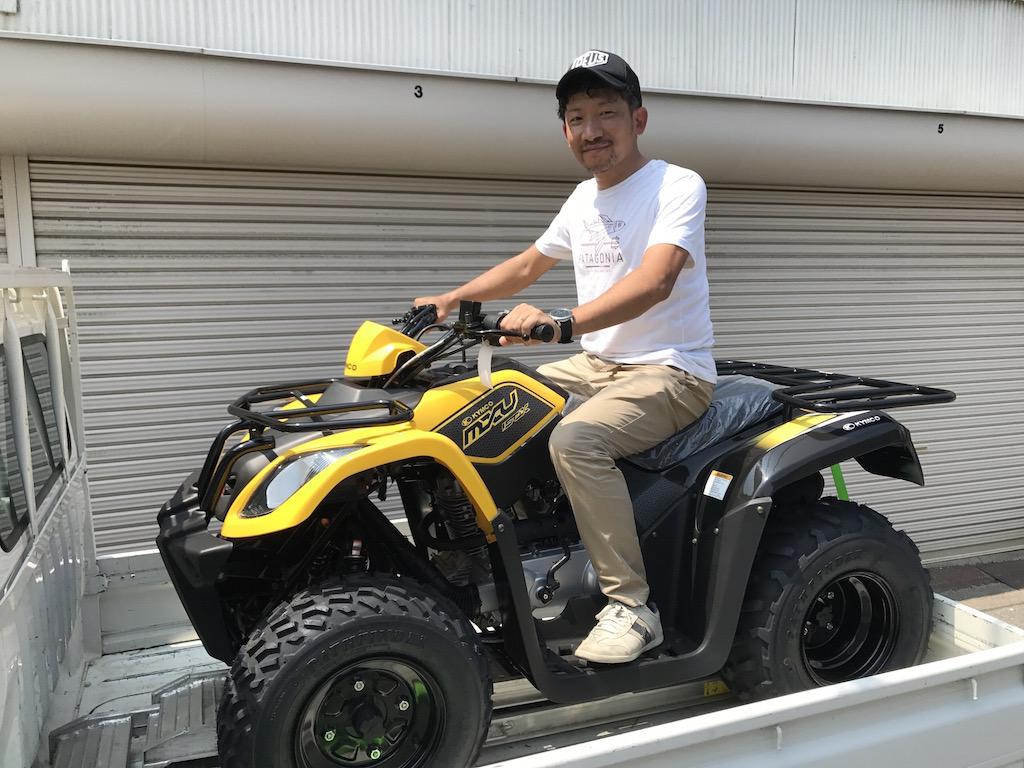 キムコ・ATV 四輪バギー