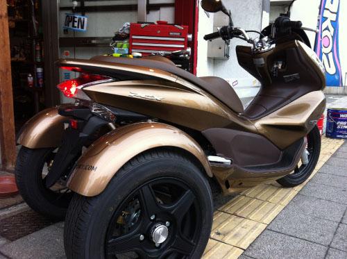 HONDA PCX-125 トライク 3輪スクーター