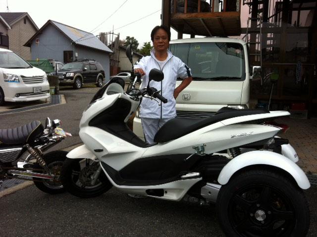 ホンダ・PCX-125/カスタム・トライク(国産メーカー) 正規販売店